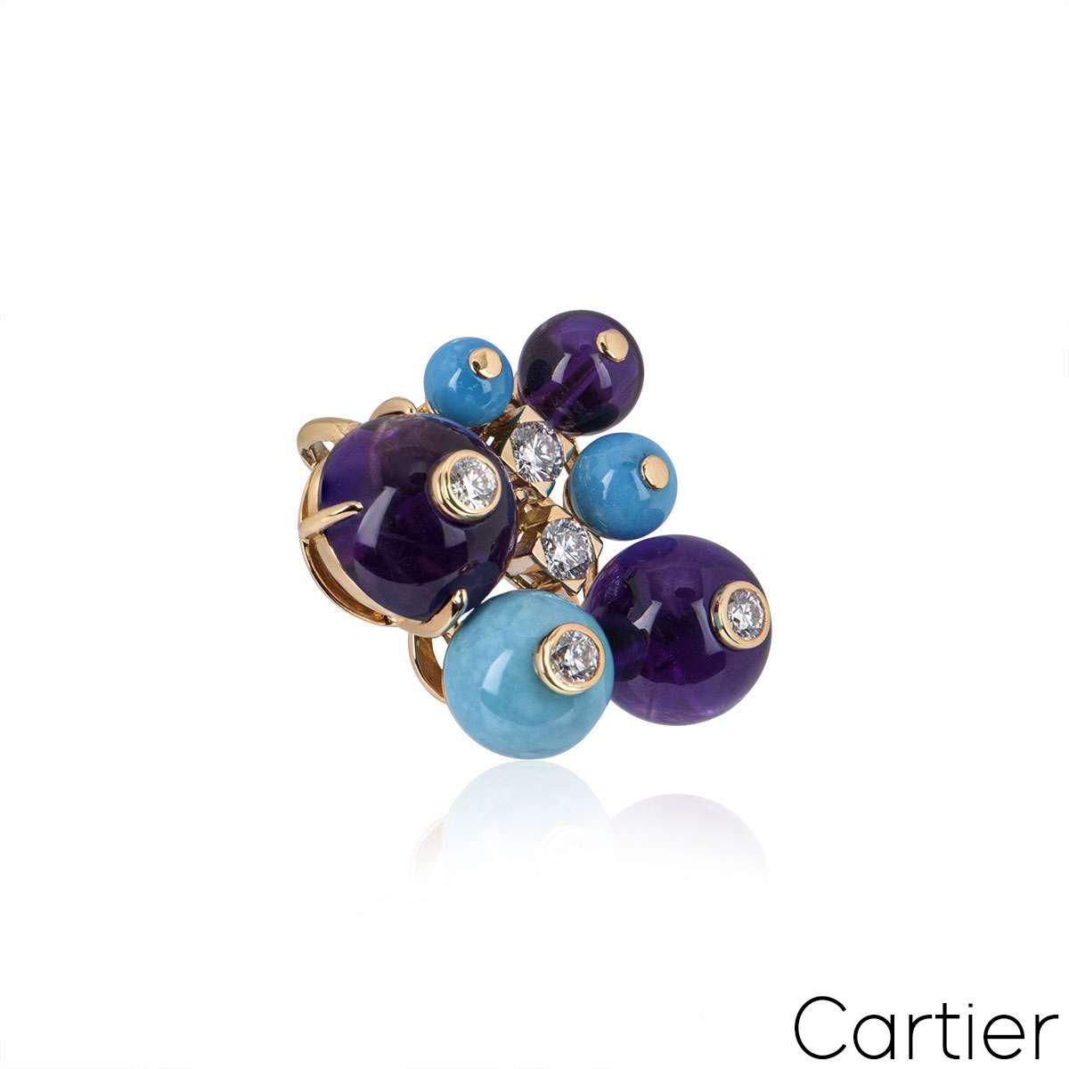 Cartier Rose Gold Delices De Goa Pendant